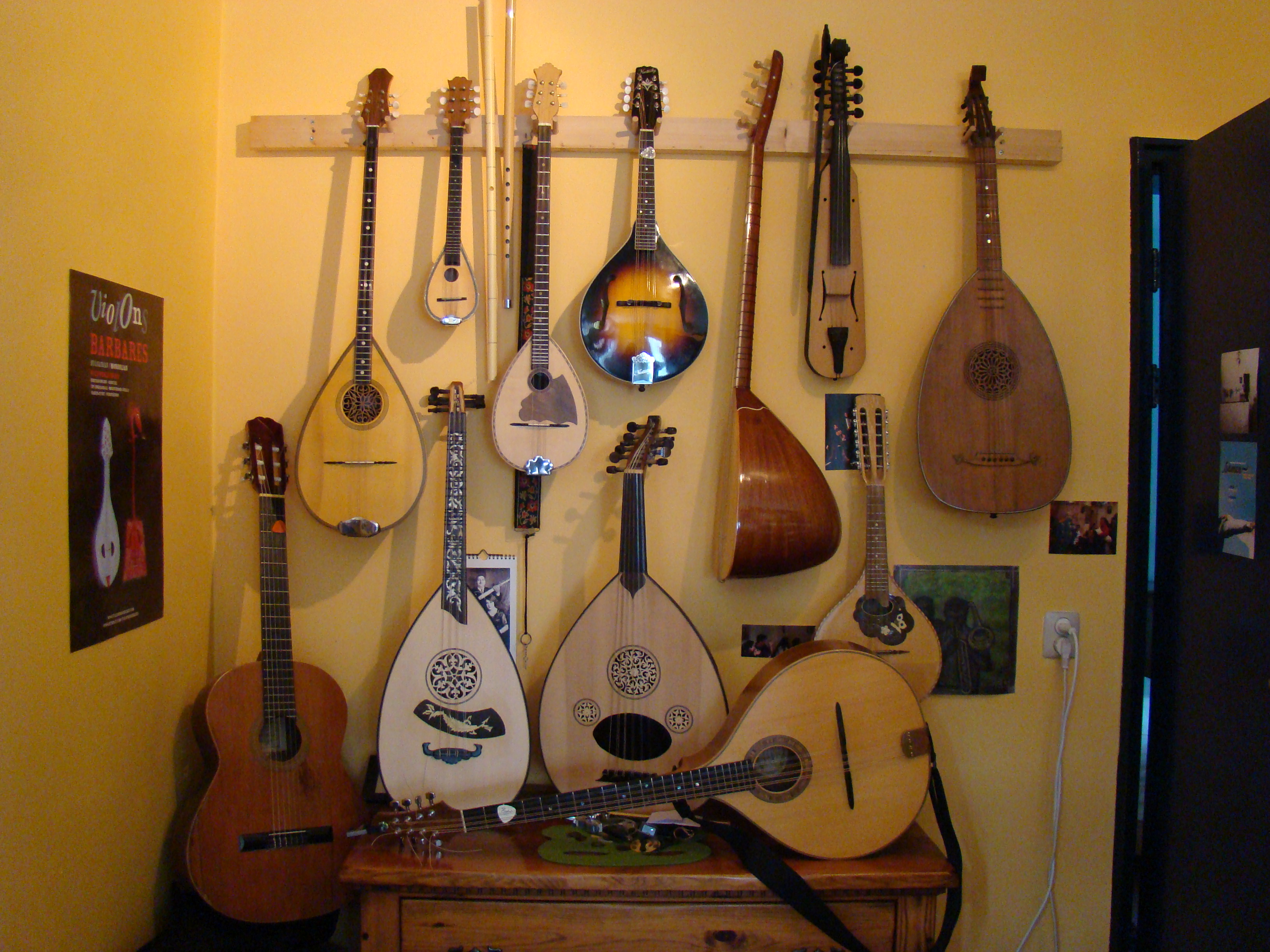 All our instruments